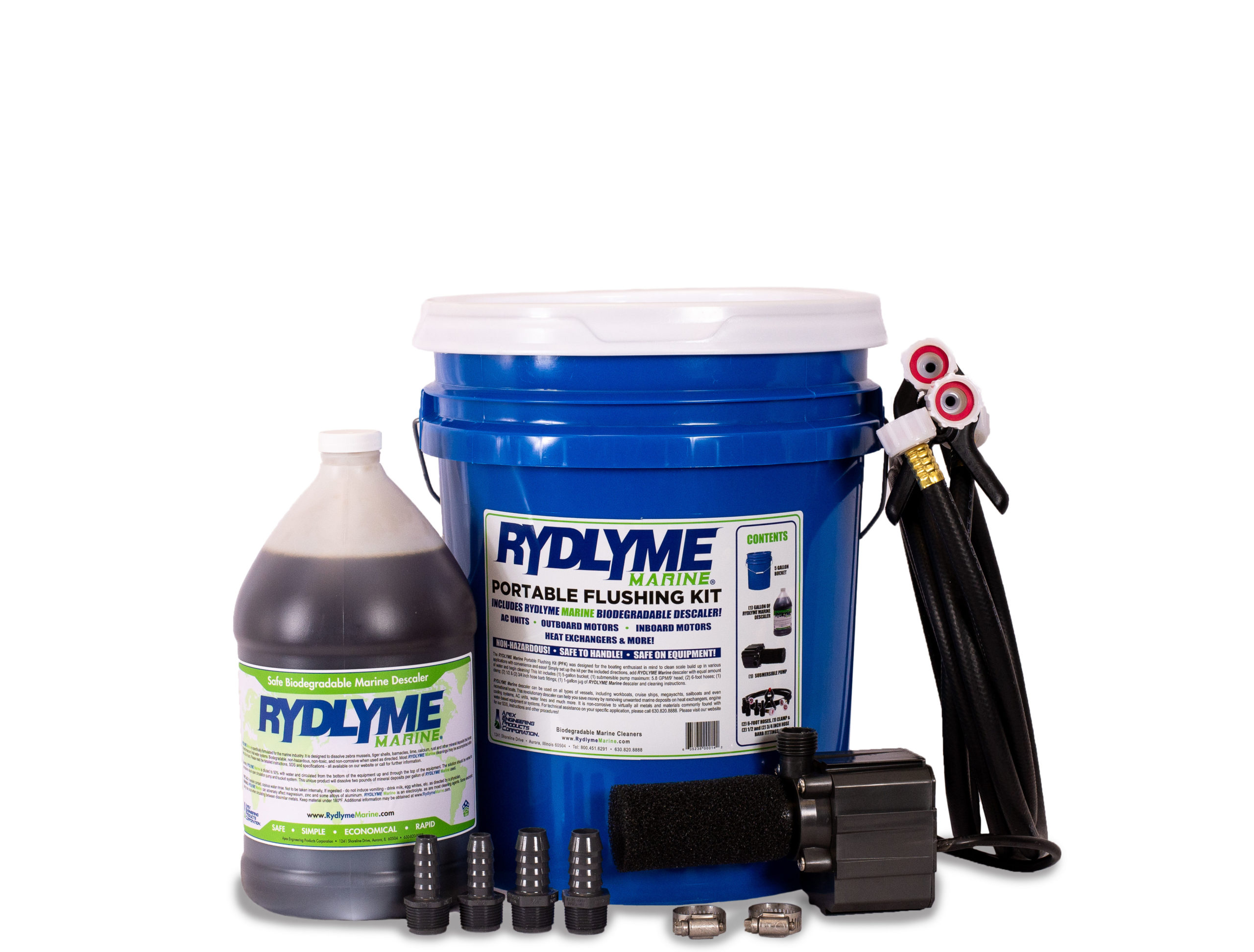 RYDLYME Marine Portable Flushing Kit